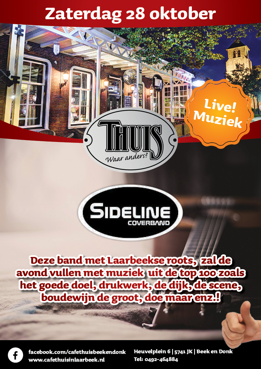 A3 Cafe Thuis - Sideline
