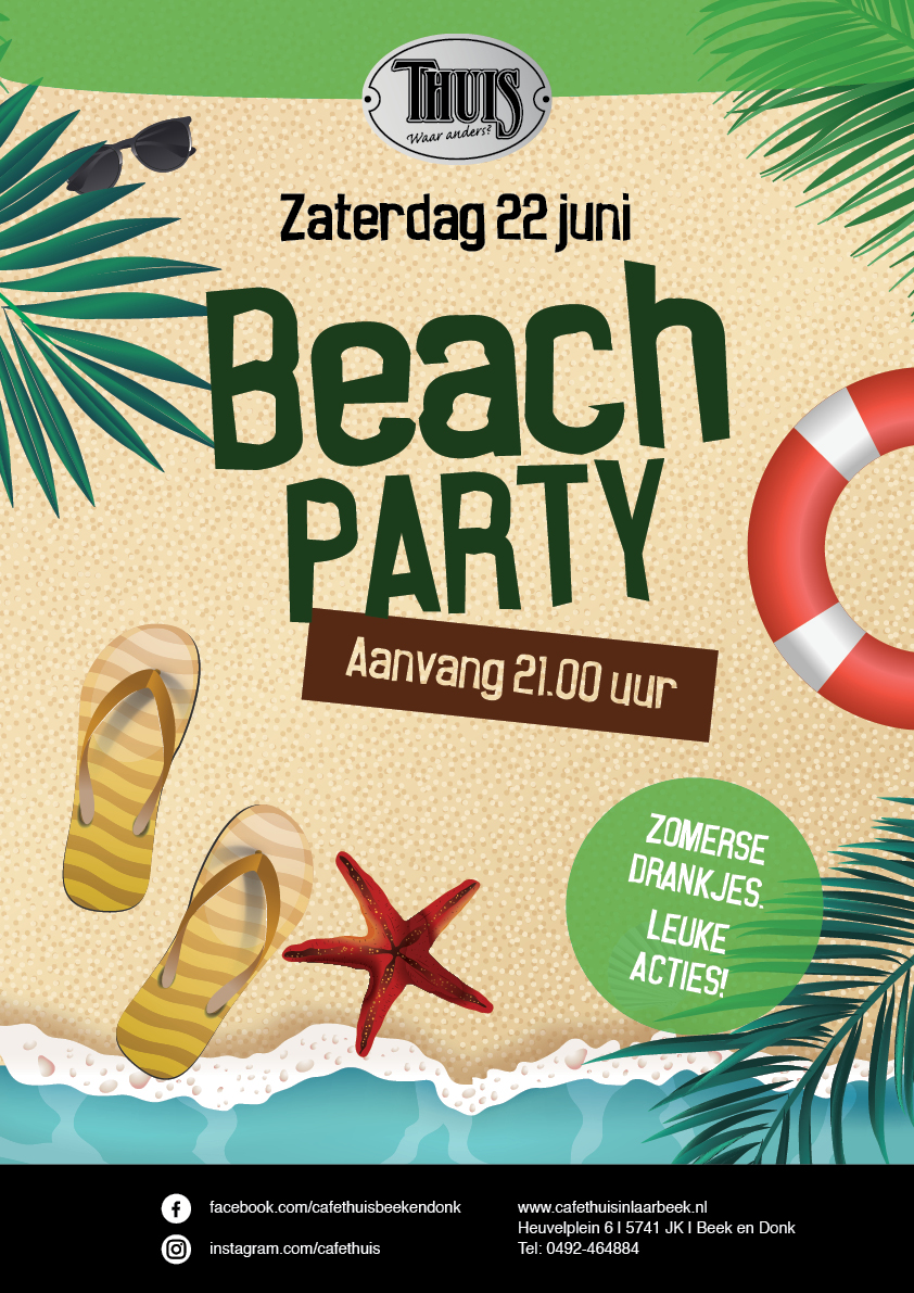 Beachparty 22 juni d019
