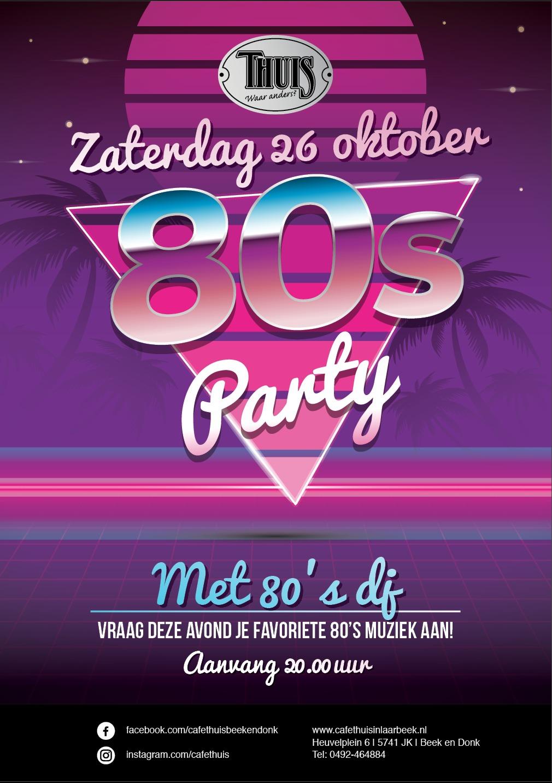 80 Party 26 oktober 2019