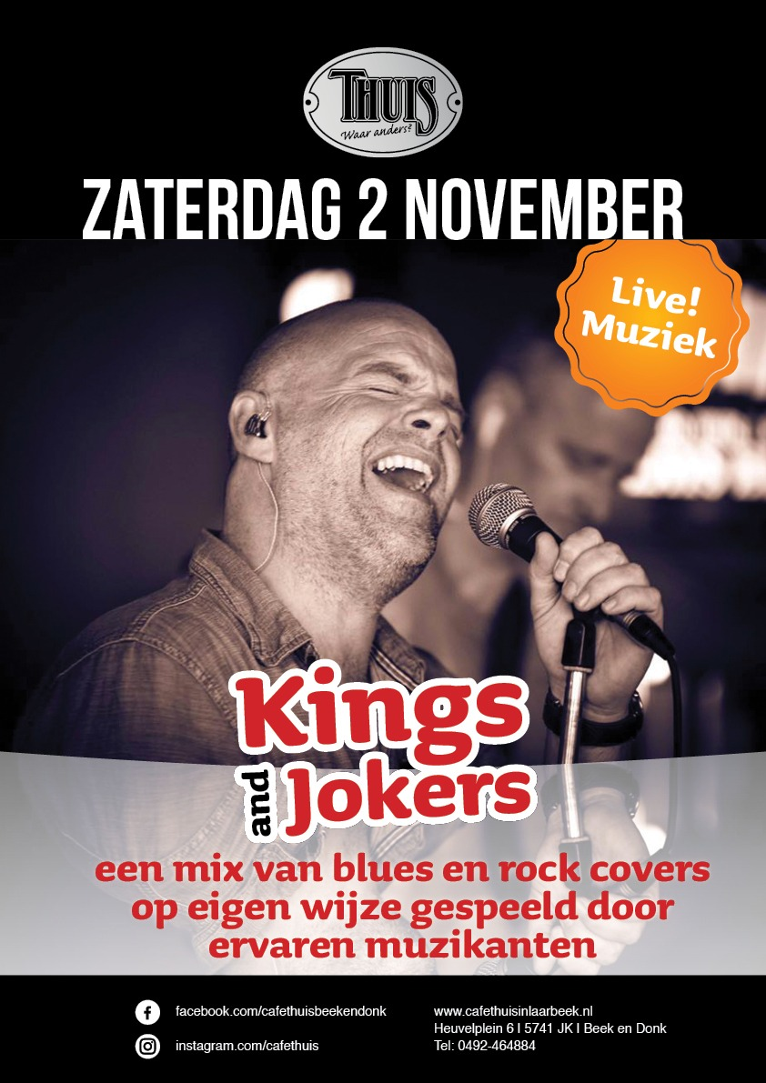 Kings and Jokers 2 november 2019
